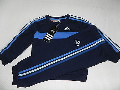 Adidas Jogging Jogger IJ3S for babies and toddlers Blue New