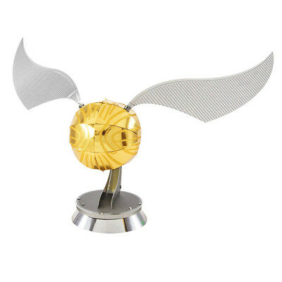 NEW Metal Works Harry Potter Golden Snitch