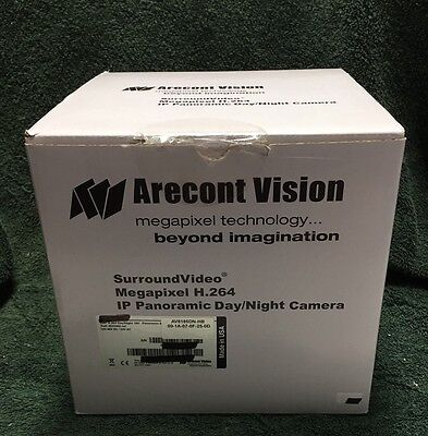 Arecont Vision AV8185DN IP Camera 8MP 180 Degree View H.264 IP66 NEW IN BOX