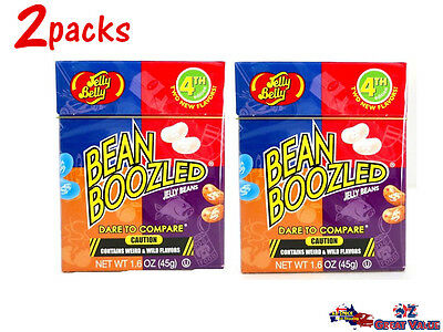 2x 4th Edition Jelly Bean Boozled Jelly Belly Kids Fun Challenge Games