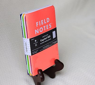Field Notes Starbucks Capitol Hill Edition Sealed Notebook 5-Pack
