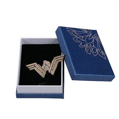 2017 Justice League Badge Wonder Woman Logo Pin Metal Badge Cosplay Props New