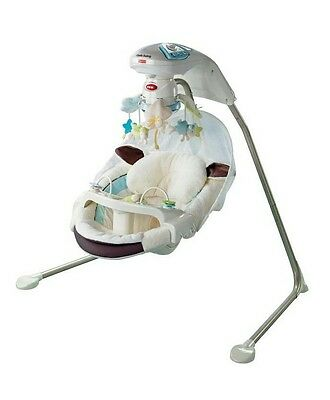 fisher price my little lamb cradle n swing