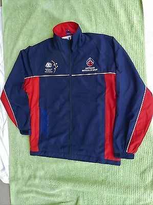 Genuine Australian Institute Of Sport Lined Jacket Brand new. size M FREE POST