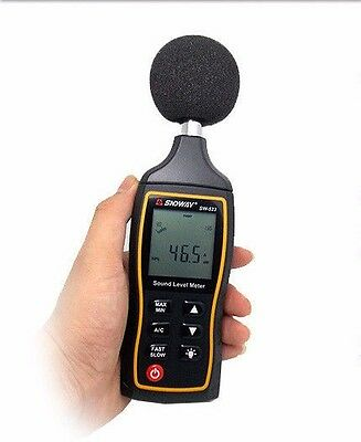 New 2019 Sndway SW-523 Digital Sound Level Meter
