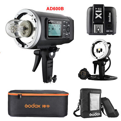 Godox AD600B TTL HSS Flash + AD-H600B Head + PB-600 Bag + CB-09 + X1T-S per Sony