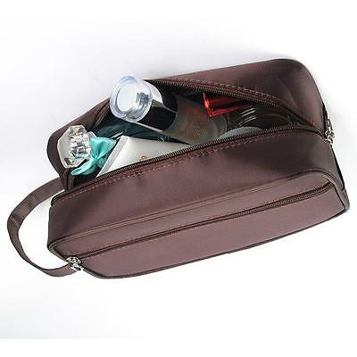 Mens Large Toiletry Bag, Wash Bag- Ideal For Travel, Holiday, Cosmetics LH