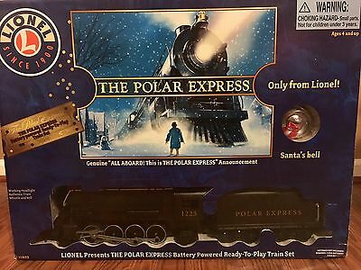 Lionel Polar Express Ready To Play Train Set- New!