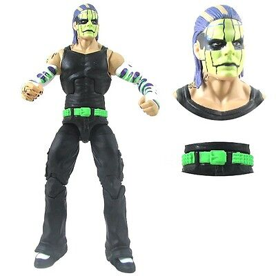77V WWE Wrestling Mattel Elite Series 1 Unreleased Jeff Hardy Action Figure