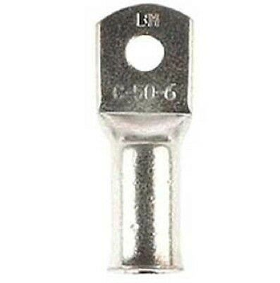 2x Cabac COPPER BELL MOUTH CABLE LUGS 50mm Square*AUS Brand-6mm,8mm,10mm Or 12mm