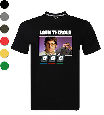 NEW Louis Theroux BBC Documentary Retro T-Shirt Short Sleeve Tops S-XXL For Men