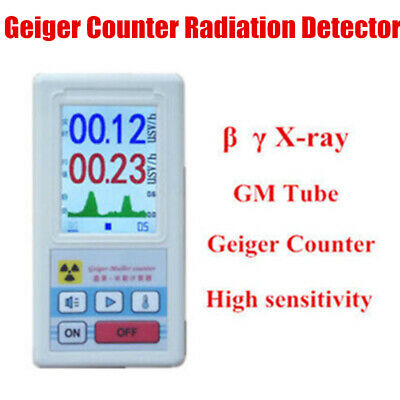 Nuclear Radiation Detector Geiger Counter Beta Gamma X-ray GM Tester Test Meter