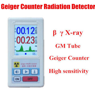 Nuclear Radiation Detector Geiger Counter GM Beta Gamma X-ray Tester Monitor