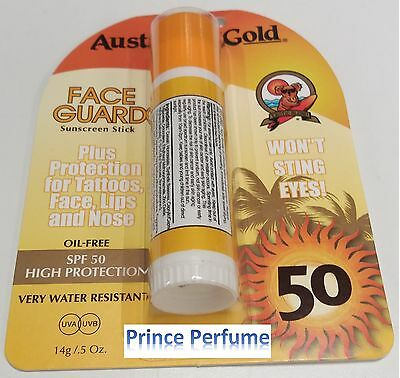 AUSTRALIAN GOLD FACE GUARD SUNSCREEN STICK SPF 50 HIGH PROTECTION OIL-FREE - 14g