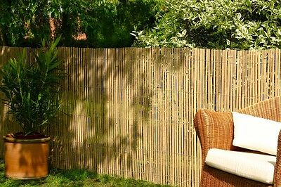 Bamboo Slat Fencing Screening Rolls for Garden Outdoor Privacy - Best Artificial