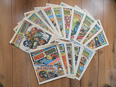 16 x EAGLE & TIGER COMICS  1985 ISSUES 163 - 179