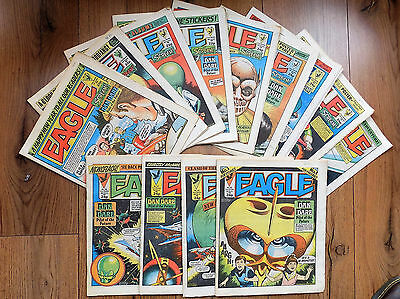 13 x EAGLE & TIGER COMICS  1985 ISSUES 146 - 158