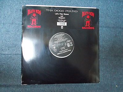 "Tha Dogg Pound Let's Play House 12"" Death Row Records 1996"