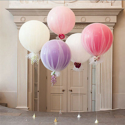 "36"" Giant Big Ballon Latex Birthday Wedding Party Helium Decor Romantic"