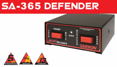 SA-365 100w Defender Siren Undercover by Carson Made in the USA