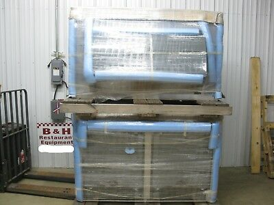 "Follett Stainless 1350 LB 60"" Ice Transport System Bin w/ Door Cart ITS1350SG-60"