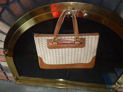 Vintage Saks Fifth Avenue Purse Made in France
