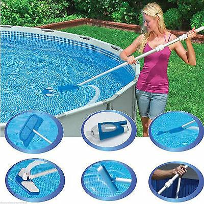 Intex Swimming Pool Maintenance Kit (Vacuum and Skimmer Set) #28002