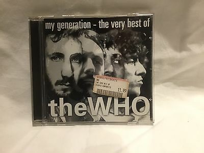 CD The WHO, My Generation - The Very Best Of