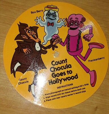 Count Chocula vintage record
