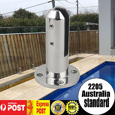 2205 Stainless Steel Spigot Glass Pool Deck Balustrade Spigots Fence Round