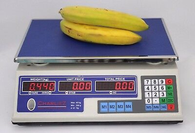 40KG Digital Price Computing Retail Weight Scale,Bakery,Sweet Shop,Festival Stal