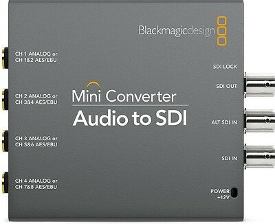 BlackMagic Design CONVMCAUDS Analog Audio to SDI Converter