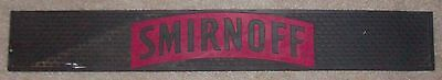 Smirnoff Bar Glass Rubber Drain Spill Mat