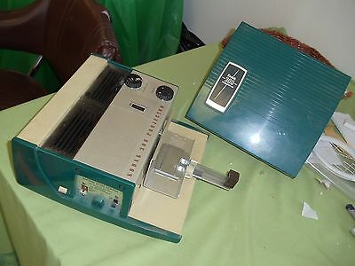 Vintage 1950's Kodak Model 300 Slide Projector Teal Colored