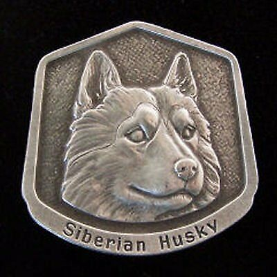 Siberian Husky Fine Pewter Dog Breed Ornament