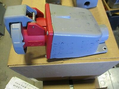 Hubbell 360R7W, 60 Amp 480VAC Pin and Sleeve Receptacle w/ Back Box- PS112
