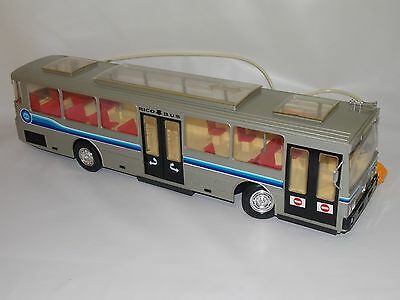 Juguete Autobus Bus Mercedes Rico No Paya // Vintage Bus Rico No Tin Toy