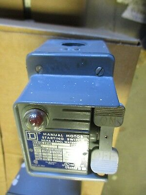 Square D 2510 KW-1A, Manual Starter