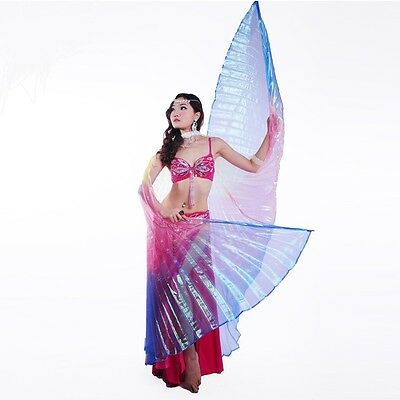 Isis wings Egyptian Belly Dance, close back & open back, Free shipping to USA .