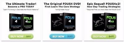 The Original Fous4+Fous4X2 Complete Package Both DVD'S