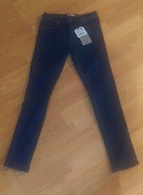 BNWT dark blue Zara girls skinny jeans age 9/10