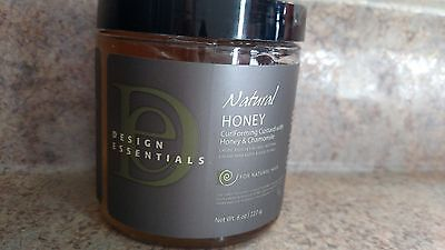 Design Essentials Natural Honey Curl Forming Custard Hair Styling