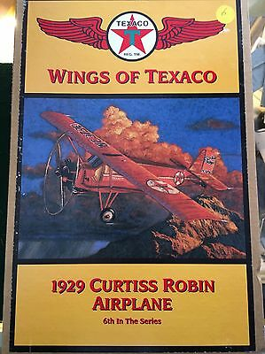 WINGS OF TEXACO 1929 CURTISS ROBIN AIRPLANE 6th in Series