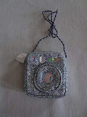 Crewcuts Girl's Glitter Camera Bag