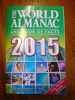 The World Almanac and Book of Facts 2015 (2014, Paperback)