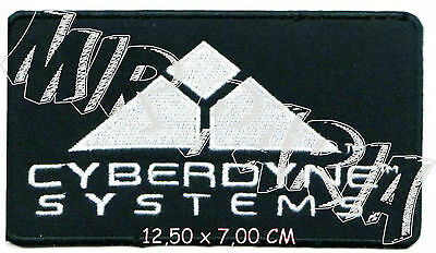 786295 TERMINATOR Movies Cyberdyne Systems Embroidered Patch Toppa Ricamata