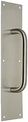 """Rockwood 107 X 70C.32D Stainless Steel Pull Plate, 16"""" Height x 4"""" Width x 8"""""""