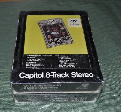 Little River Band Backstage Pass Vol. 1 & 2 8 Track Tape SEALED