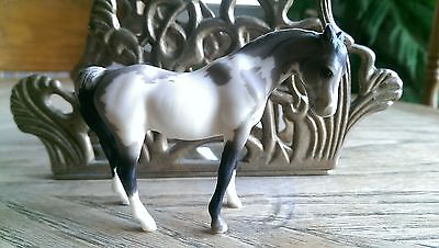 Breyer CUSTOM Etchie Stablemate Arabian Mare to Grullo Pinto