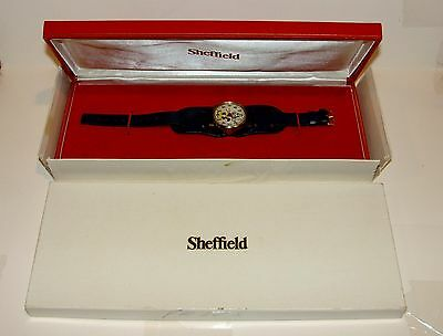 ORIGINAL 1970s FELIX THE CAT - SHEFFIELD WATCH IN ORIGINAL BOX NOS NEW OLD STOCK
